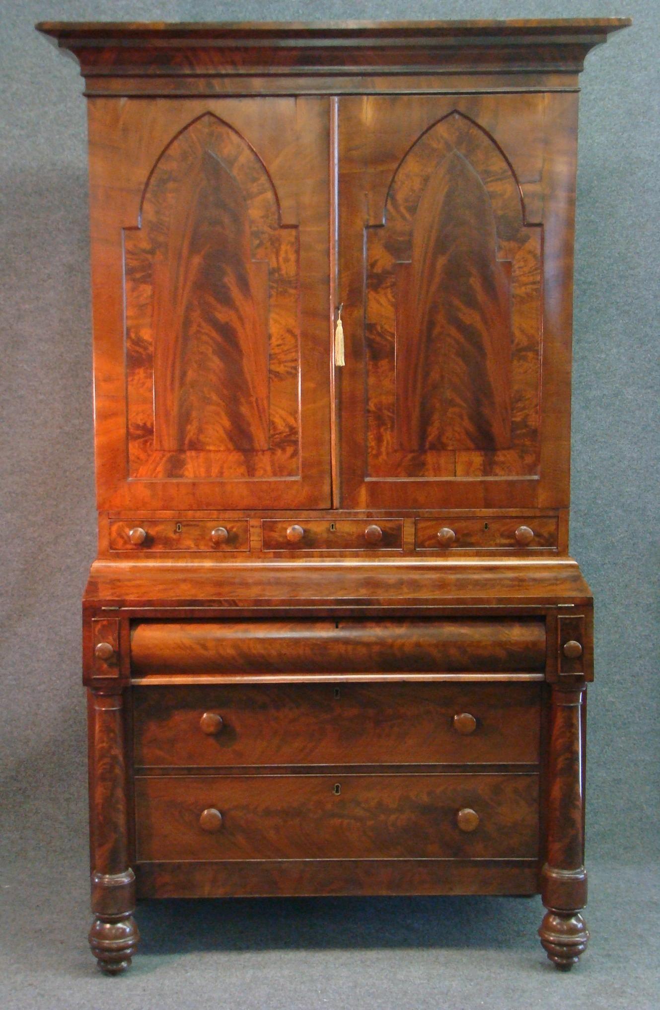 english slant front desk completed furniture desks secretaries   ... Antique  Furniture » Antique - English Slant Front Desk Completed Furniture Desks Secretaries