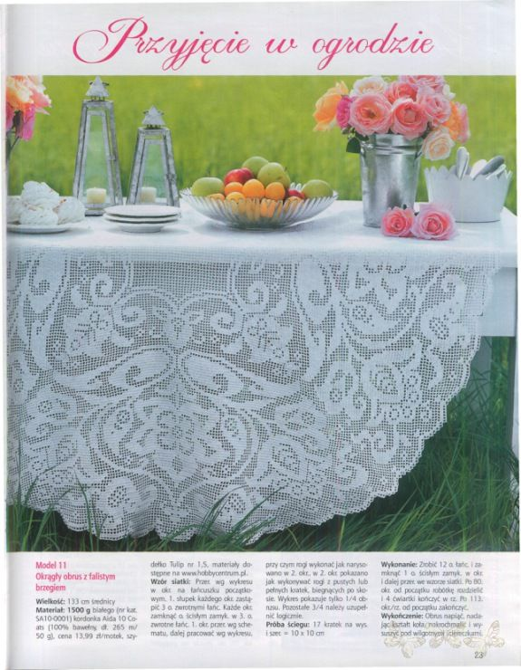 Luxury Coffee Table Doilies