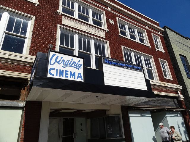 Virginia Cinema Sign Somerset Ky By Wallyum Via Flickr I Really Wish Someone Would Reopen It Some Day Somerset Cinema Sign Hometown