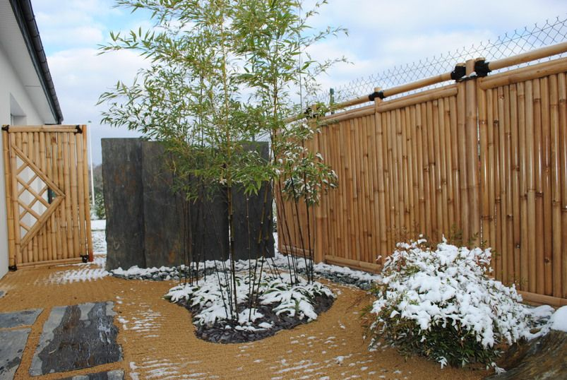 Stunning Cloture Bambou Jardin Japonais Images - ansomone.us ...