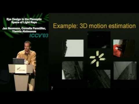 Eye Design in the Plenoptic Space of Light Rays - Part 1