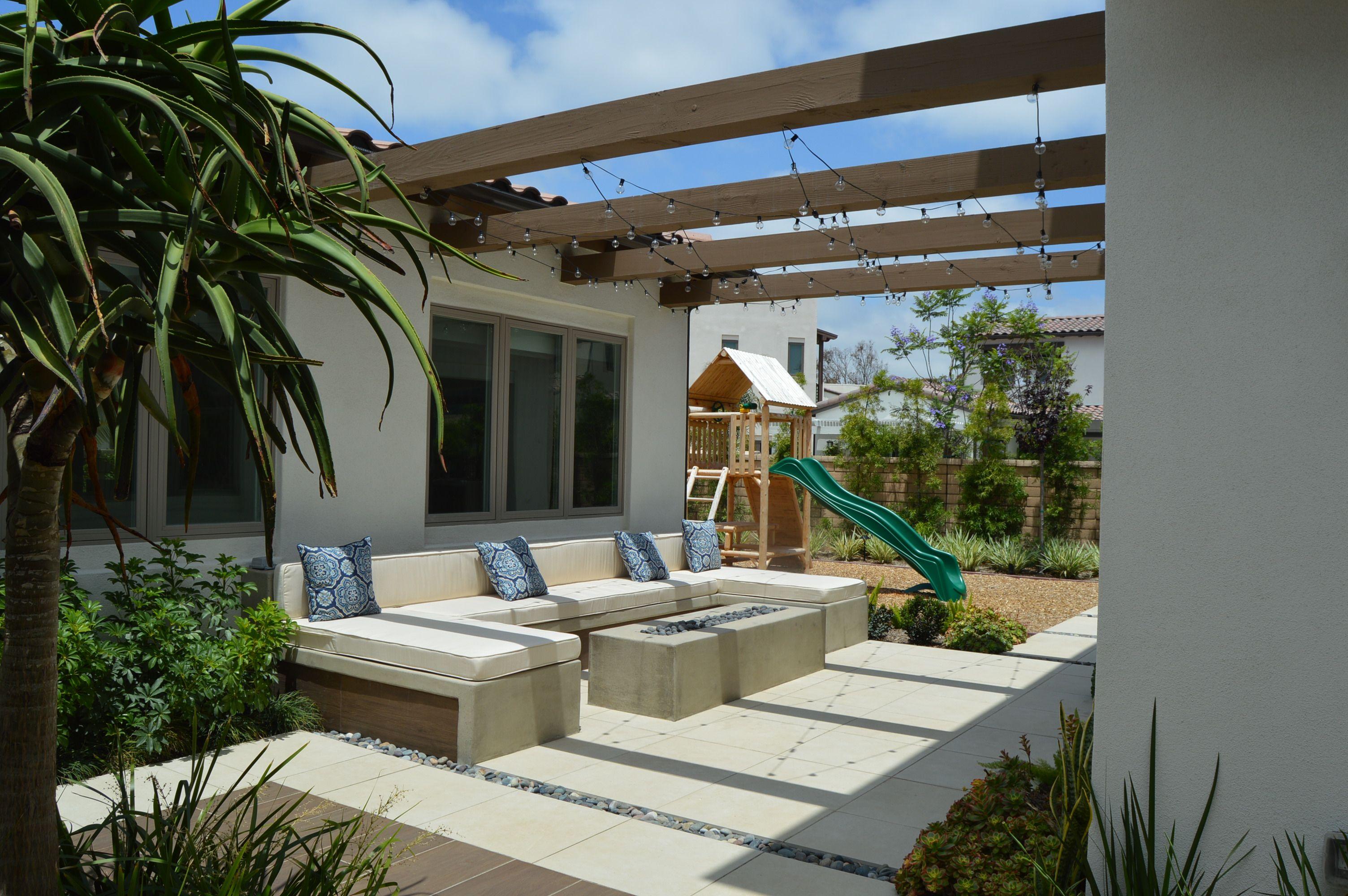 Hardscape and landscape design at San Diego # ...