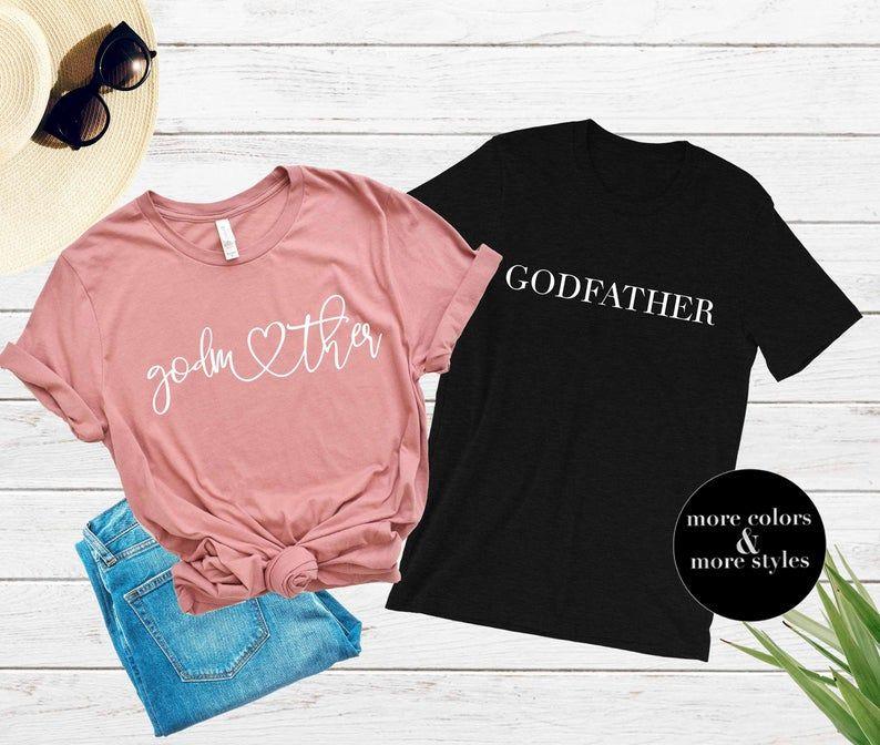 Godmother and Godfather Shirts Godmother Shirt Godmother