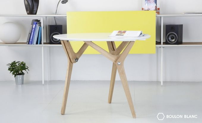 From a coffee table to a diner table in 1 second Elegant