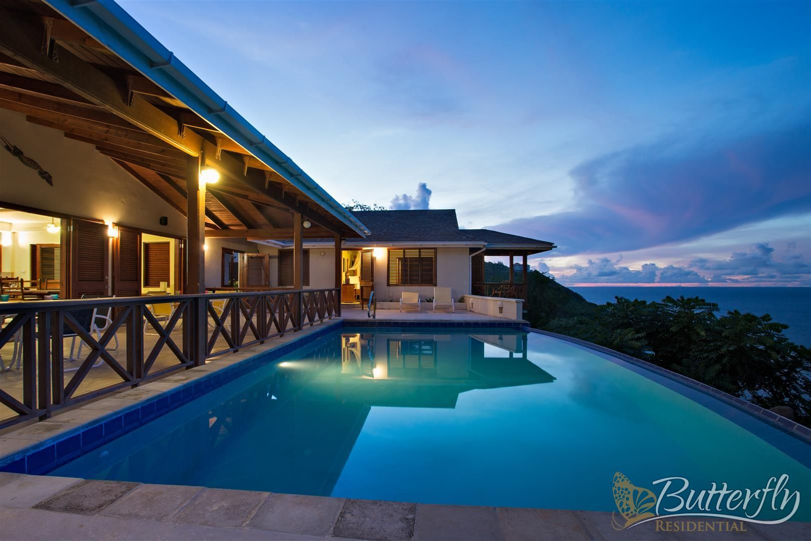 Stunning Oceanfront Villa for Sale in St. Lucia