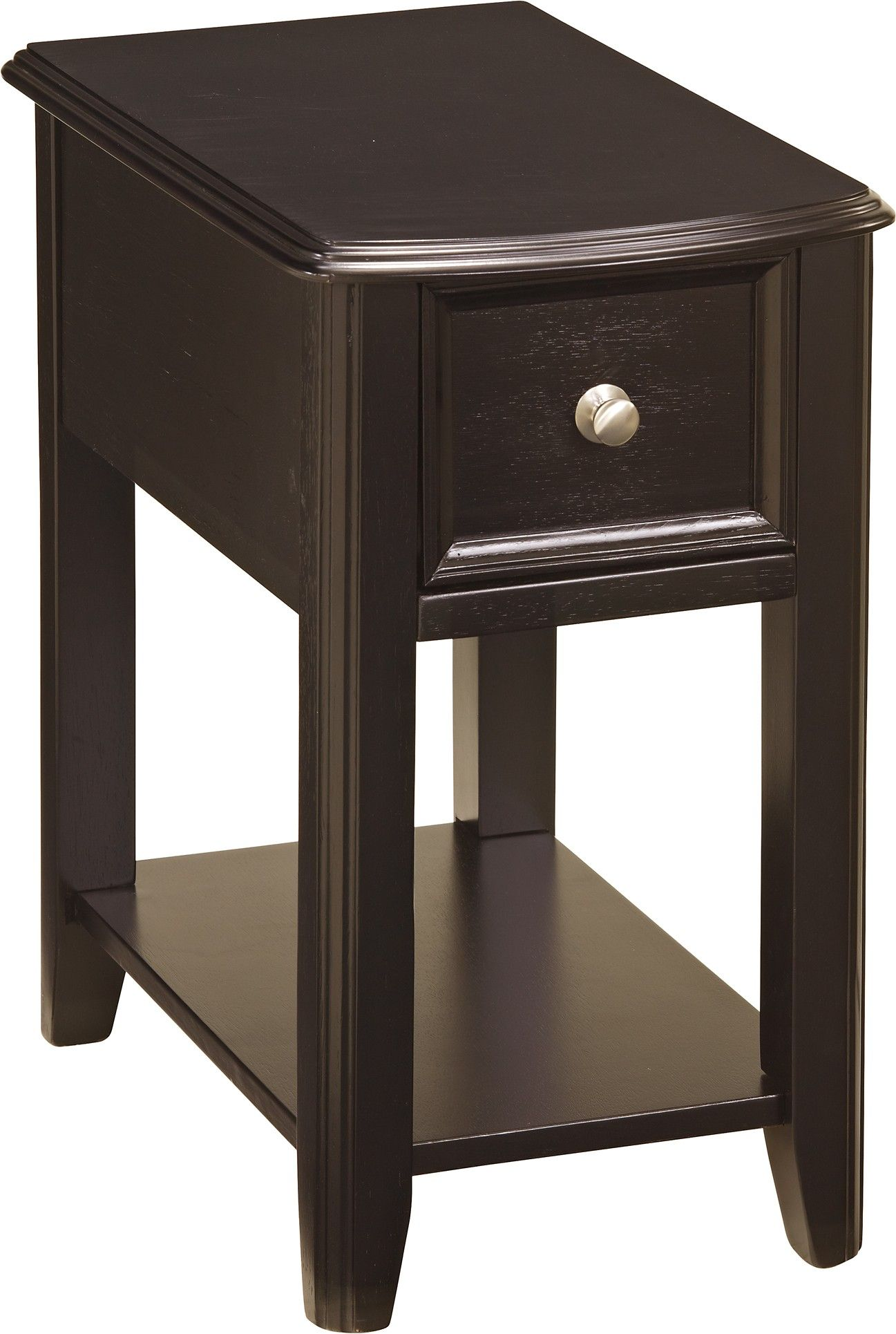 Chair Side Table With Storage Ashley Breegin T007 371 Signature Design Chair Side End