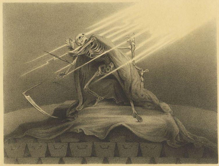 The Wily Grasser meets The Opium Eater - 50 Watts. Alexander Ver Huell (1822–1897)