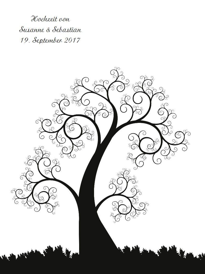 Produktübersicht und Varianten zu Wedding Tree Leinwand