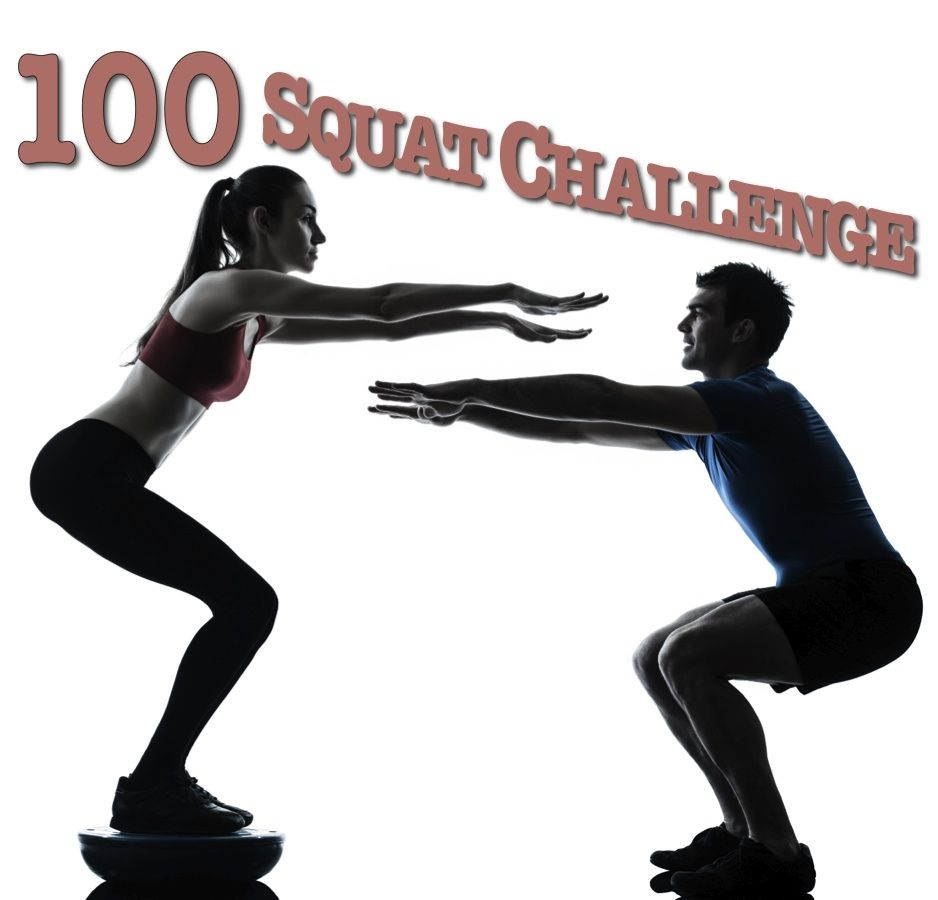 The 100 Squat Challenge Pulseos Friday Workout Leg Workout
