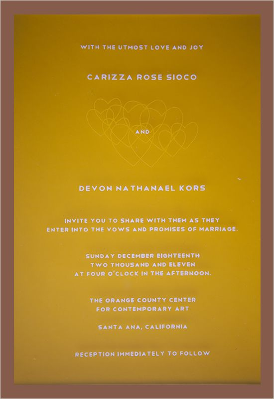 LOVE the wording of this invite Paperie Pinterest