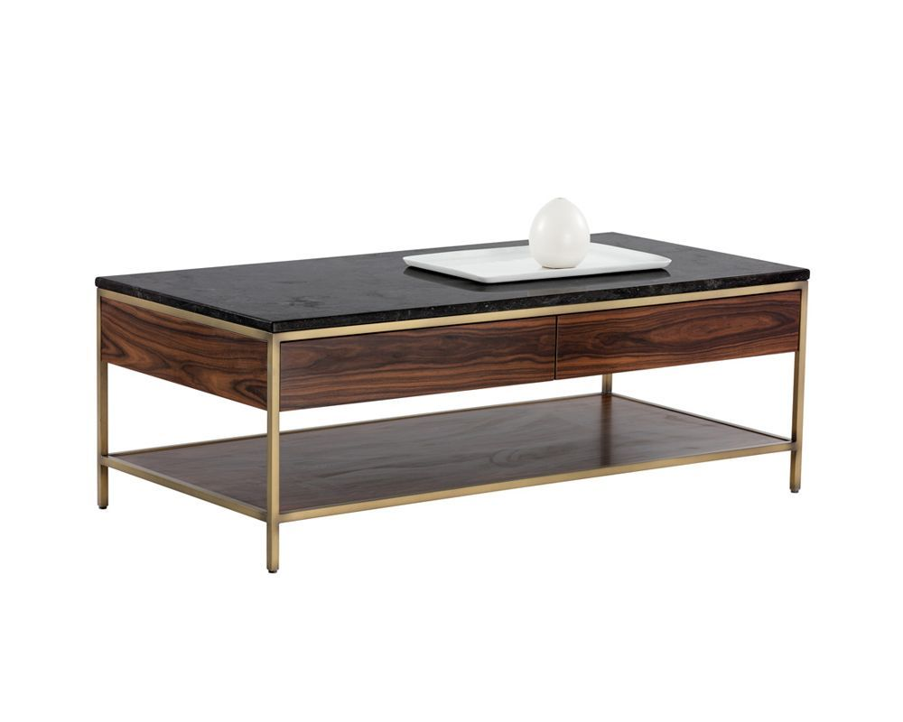 Stamos Coffee Table Gold Zebra Brown Coffee Table Wood Coffee Table Gold Coffee Table [ 800 x 1000 Pixel ]