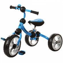 Трехколесный велосипед EVA Turbo голубой