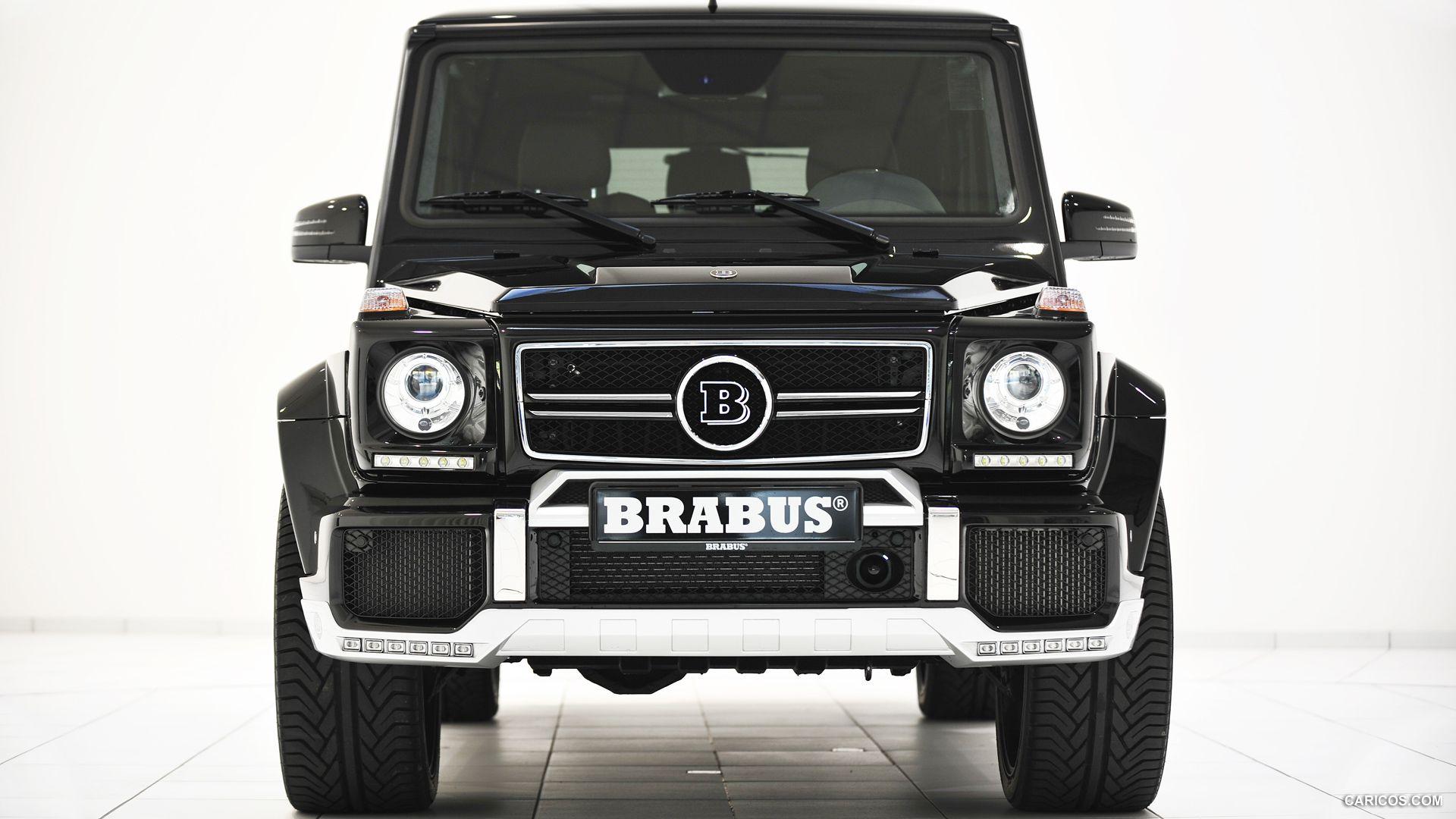 2013 BRABUS B63 620 WIDESTAR based on M Benz G63 AMG Front HD