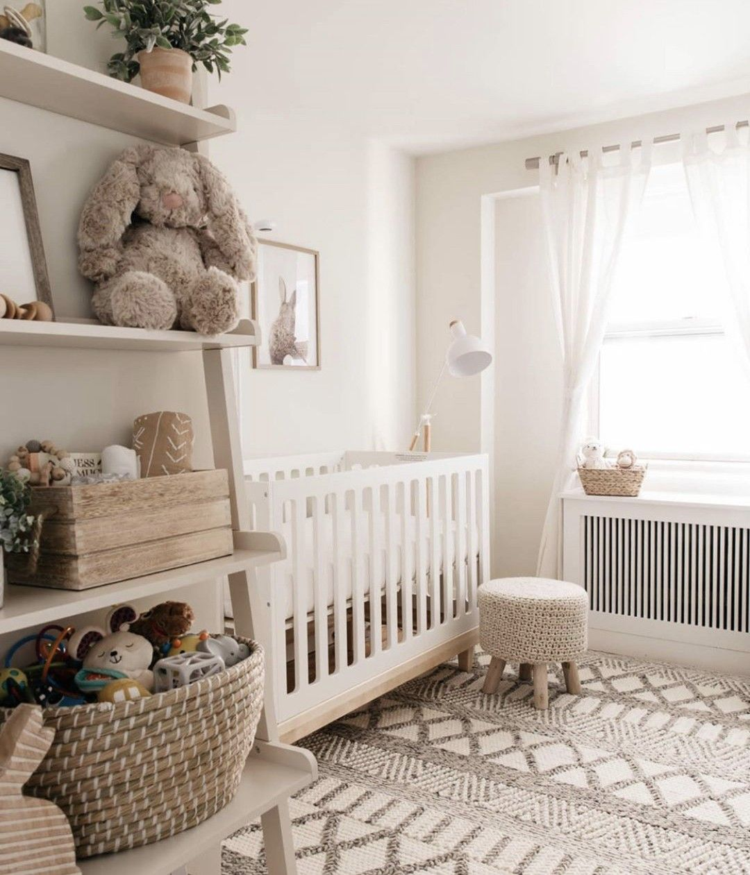 Can T Stop Staring At The Gender Neutral Nursery We Helped Design For Styledsnapshots If You Peek Clos Nursery Baby Room Baby Room Design Nursery Room Design Baby bedroom interior design