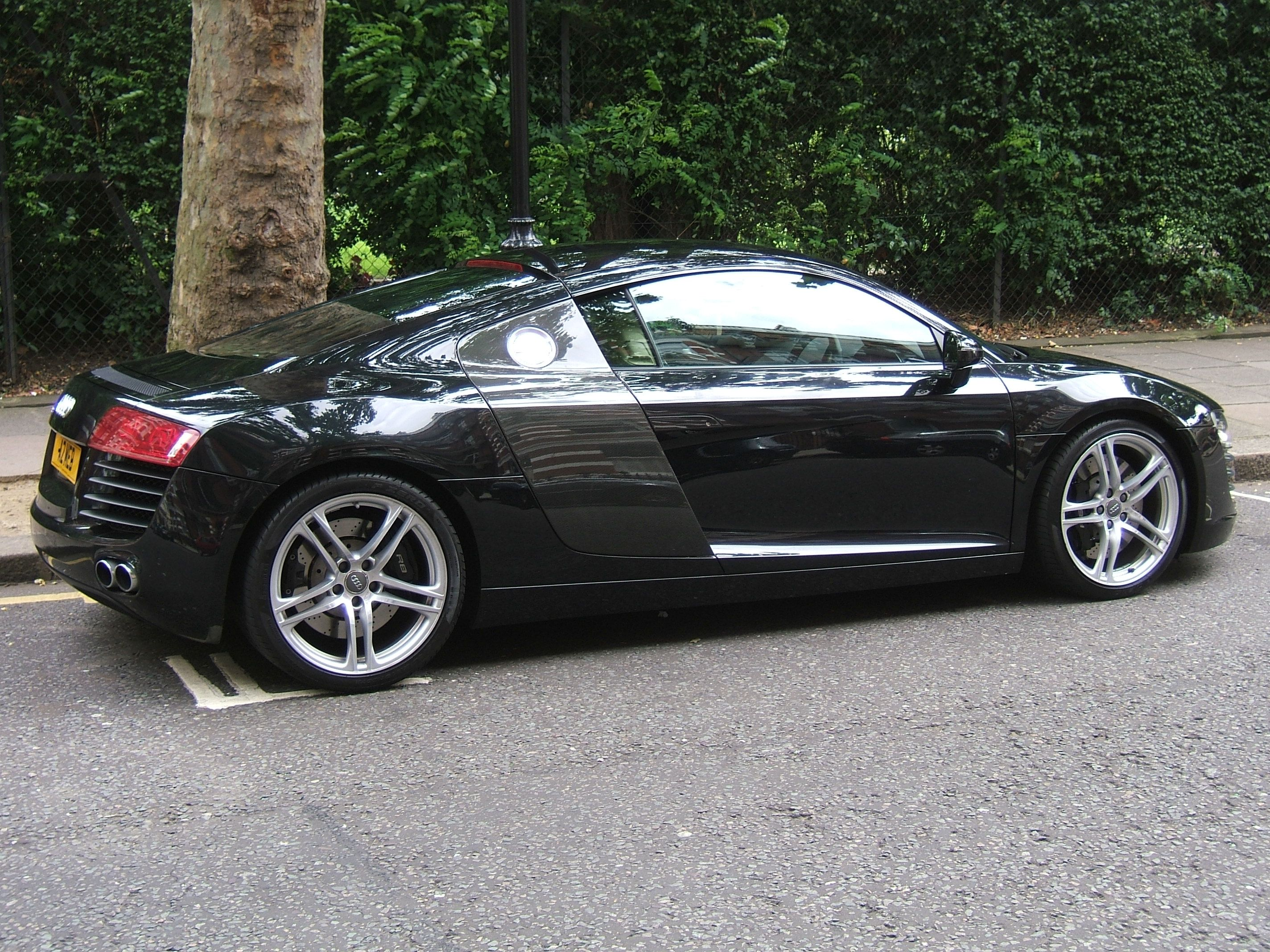 Chapter 7 Christian s audi r8 black
