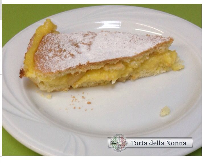 Photo of A traditional cake called Torta della Nonna (Grandmas cake) Check