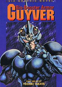 Bio Booster Armor Guyver Japanese Cartoon Alien Soldier Fantasy Comics