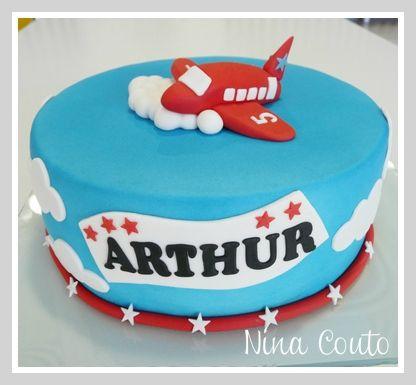 gâteau avion - anniversaire enfant nîmes | annif tristan