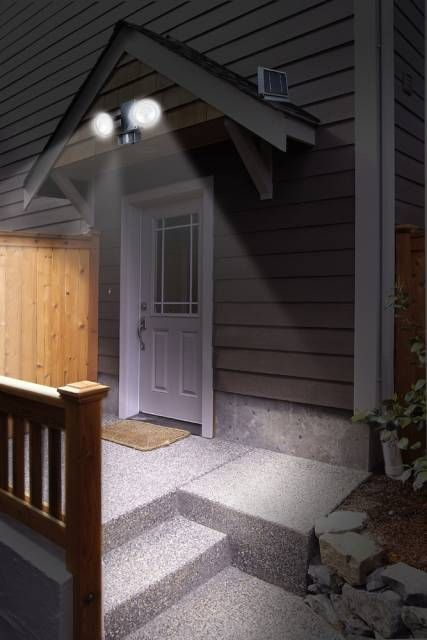 Exterior lighting safety tip install motion activated flood lights