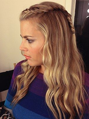 Look We Love Busy Philipps S Easy Two Strand Braid Long Braided Hairstyles Hair Styles Hairstyle