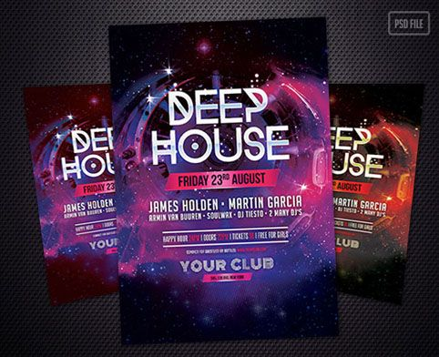 Free download by stylewish deep house party flyer template free download by stylewish deep house party flyer template saigontimesfo