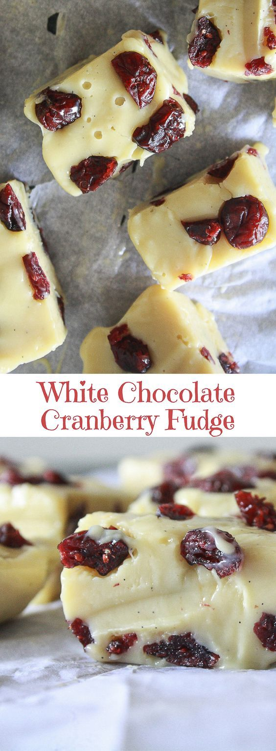 Chewy White Chocolate Fudge With Just Two Main Ingredients