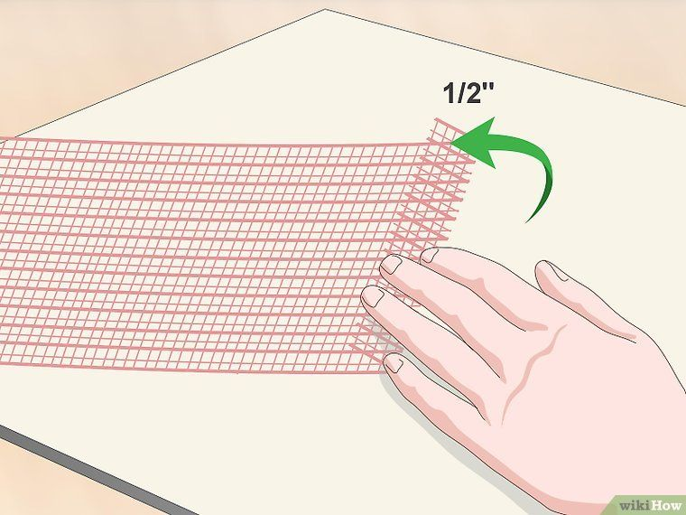 How to Keep Deco Mesh from Fraying