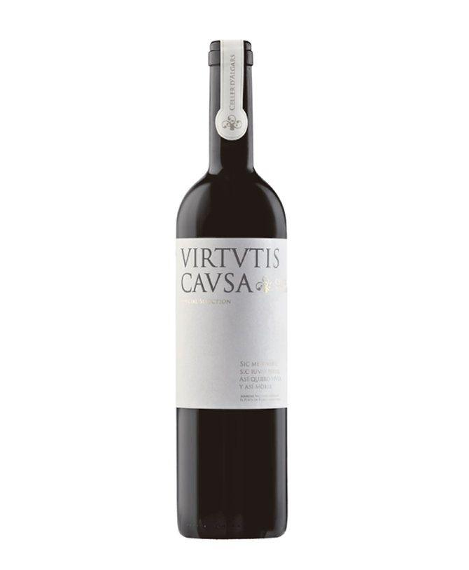 Reserva Del 2007 El Vino Tinto Virtutis Causa Es Un Vino De Autor