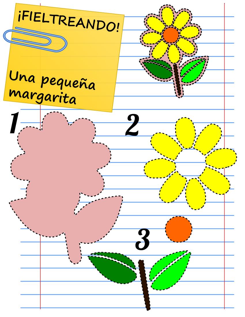 Que buscas plantillas para hacer flores de fieltro ya - Plantillas goma eva ...