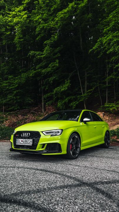 The latest iPhone11, iPhone11 Pro, iPhone 11 Pro Max mobile phone HD wallpapers free download, audi rs4, audi, car, sports car, green – Free Wallpaper | Download Free Wallpapers