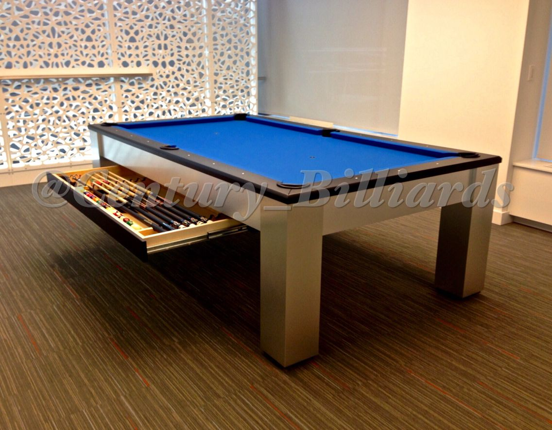 Modern Pool Table Design For The Gotham In NYC We Specialize In - Modern pool table designs