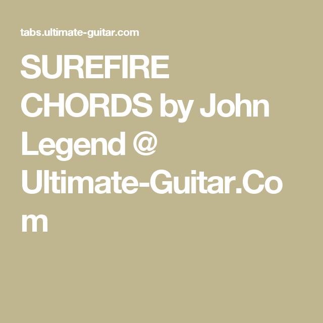 John Legend Guitar Chords Images Guitar Chords Chart
