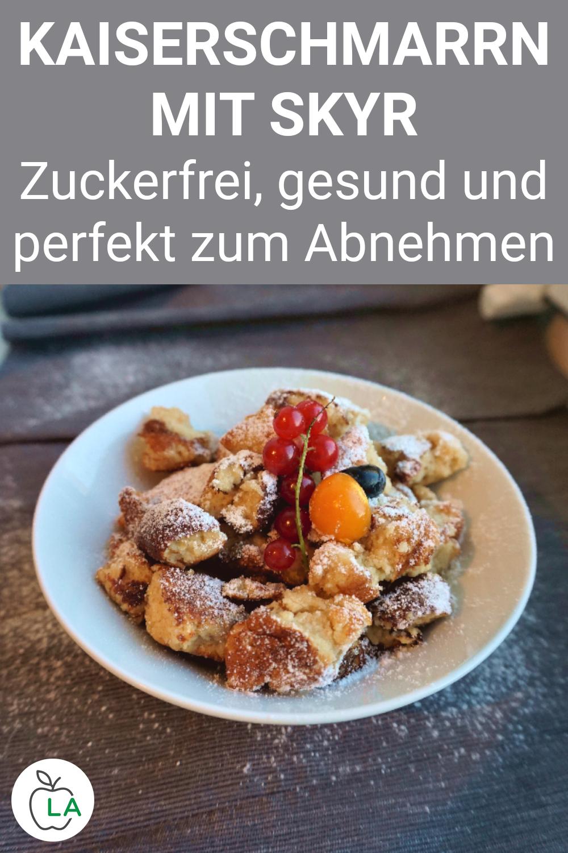Kaiserschmarrn Rezept ohne Zucker - gesundes Dessert zur Gewichtsreduktion - Dieses Kaiserschmarrn-R...
