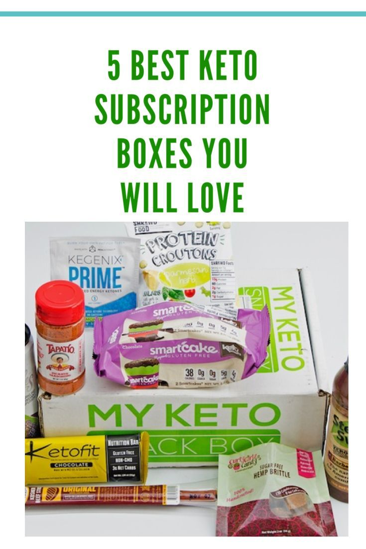 5 Best Keto Friendly Subscription Boxes To Order Now