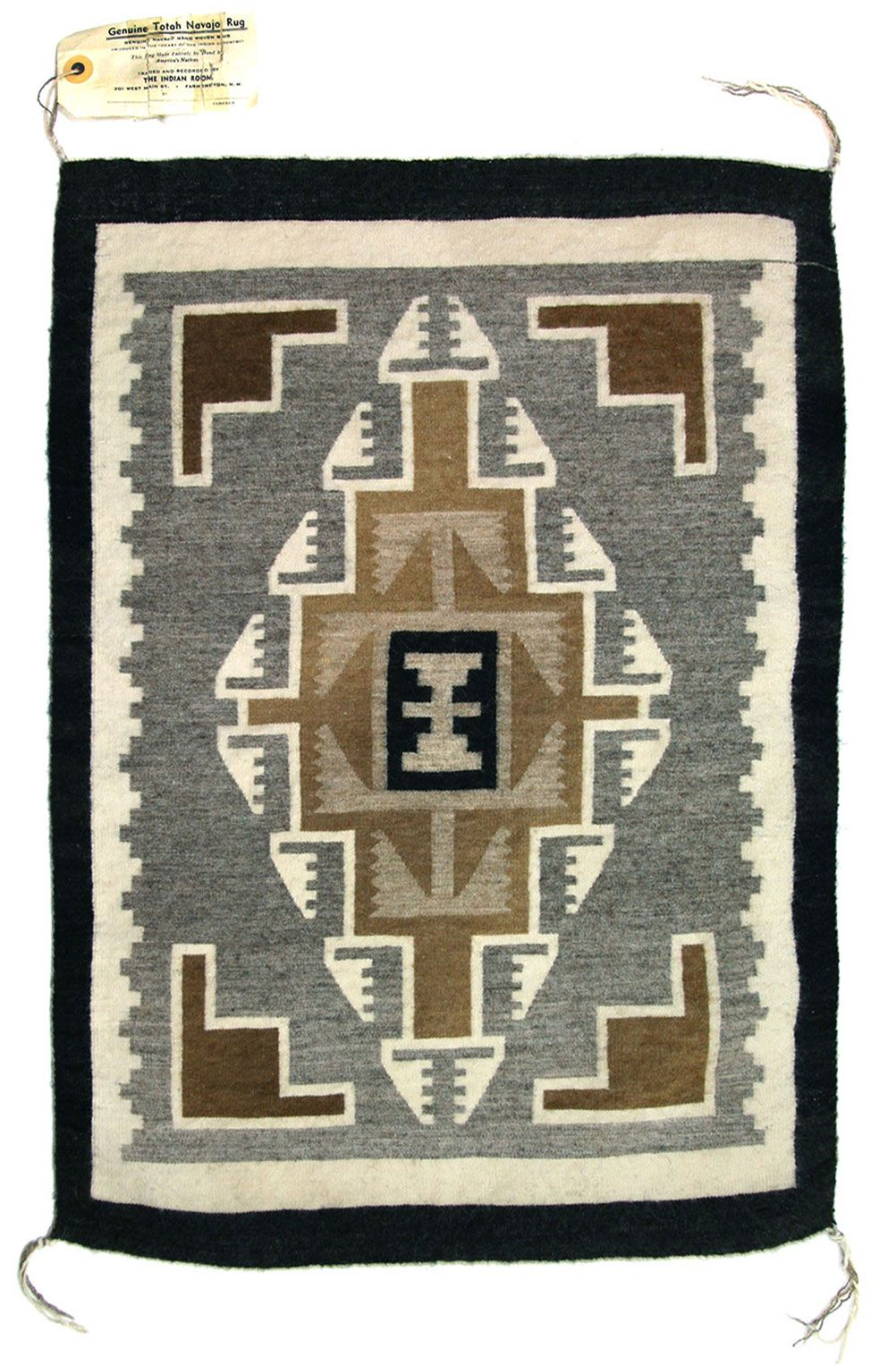 Includes provenance. This rug is in excellent condition