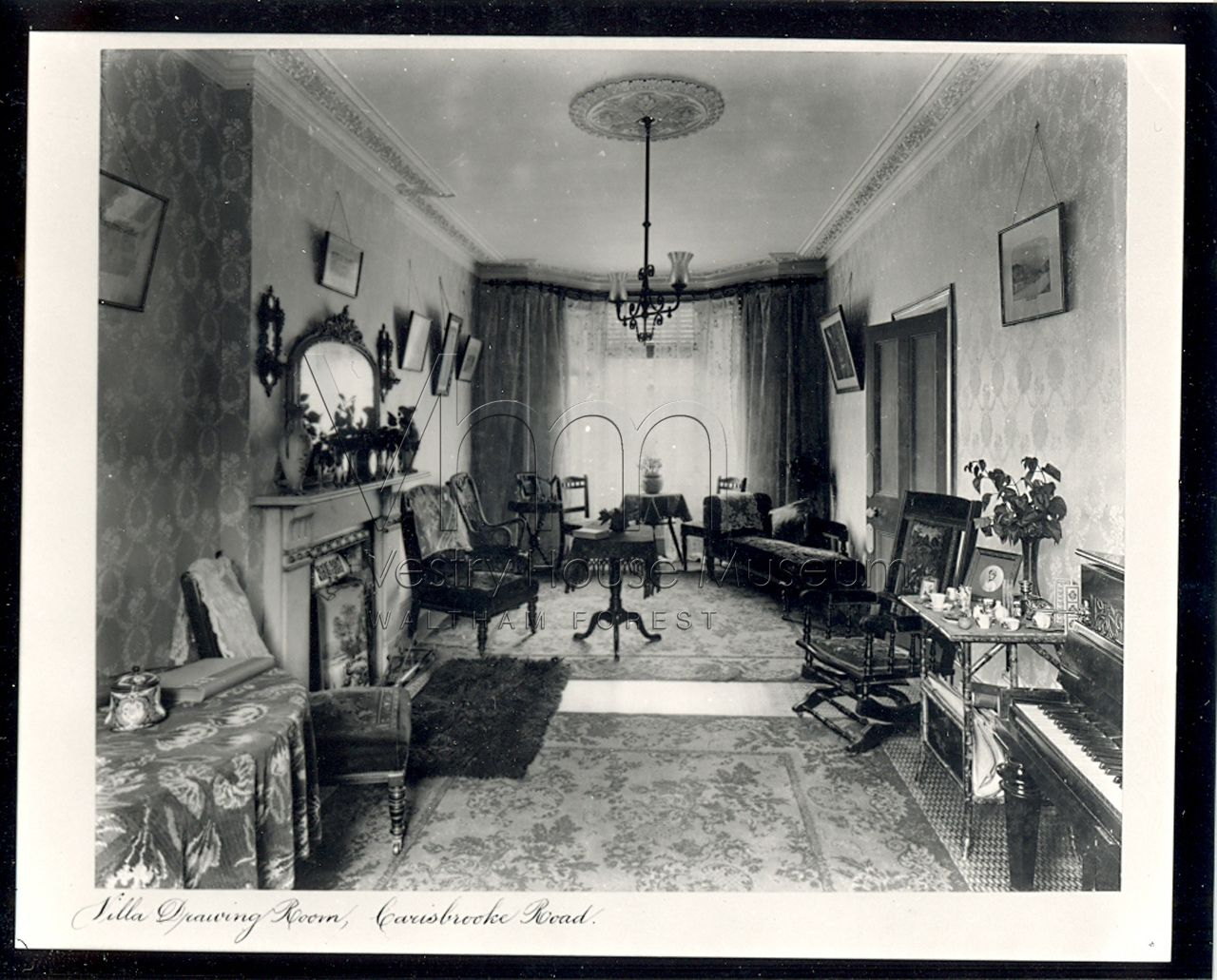 Edwardian drawing room parlour 1900s | old parlors studies