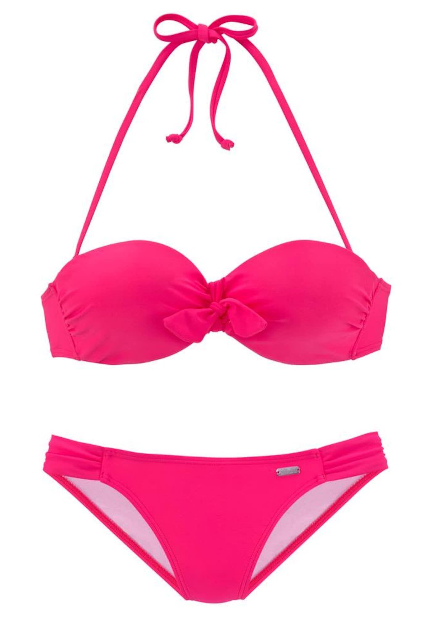 Photo of VENICE BEACH bikini women, pink, size 38 A