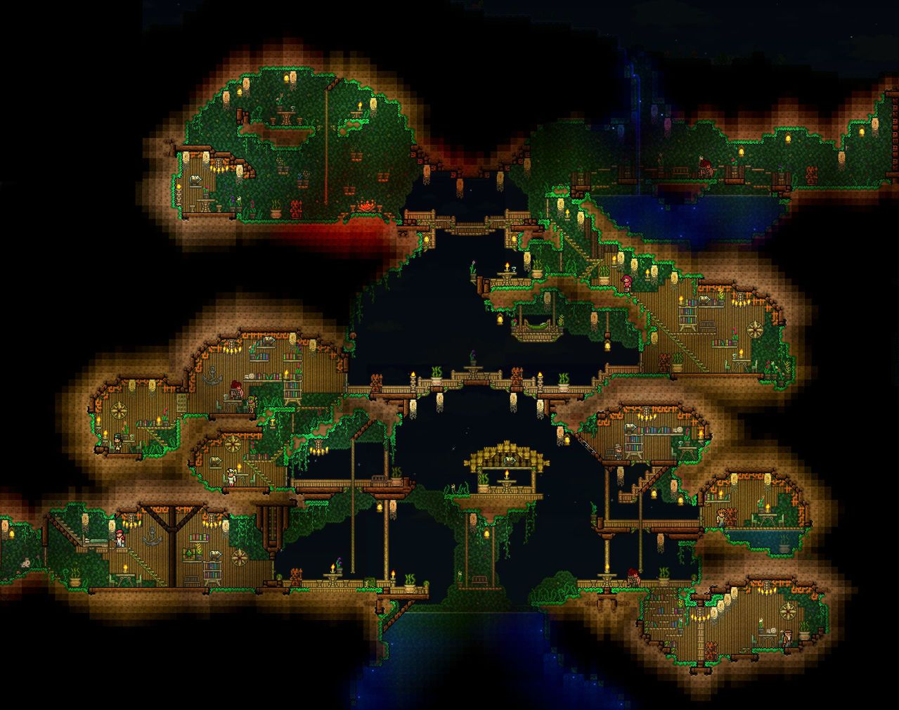 Terraria Bases And Buildings Photo Terraria Sigh I