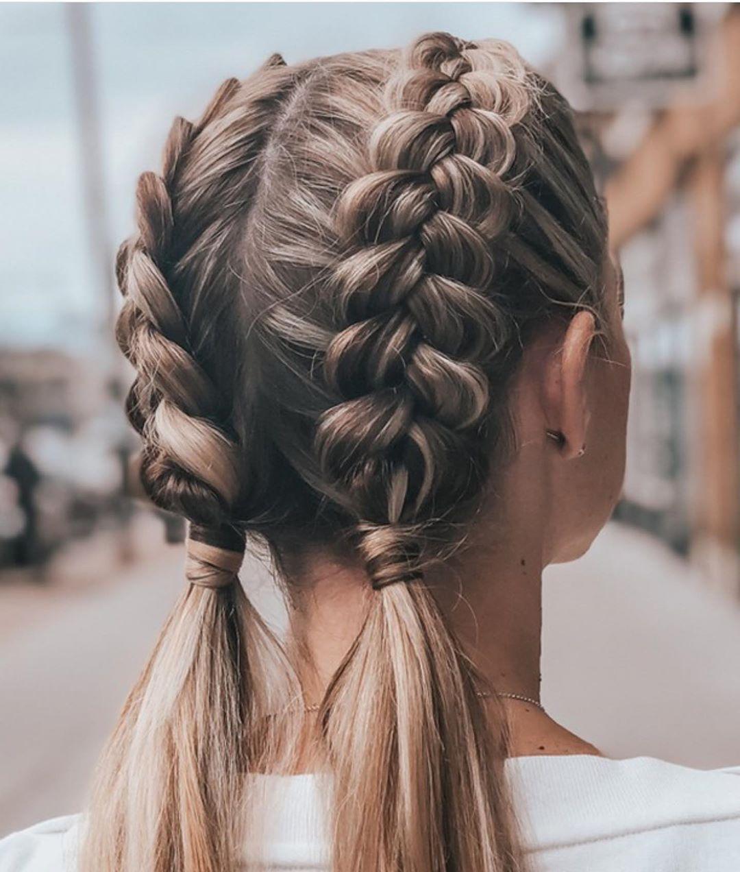 10 Trendy Braided Hairstyles In Summer Hairstyles For Long Hair 2021 In 2021 Long Hair Styles Braids For Long Hair Braided Hairstyles