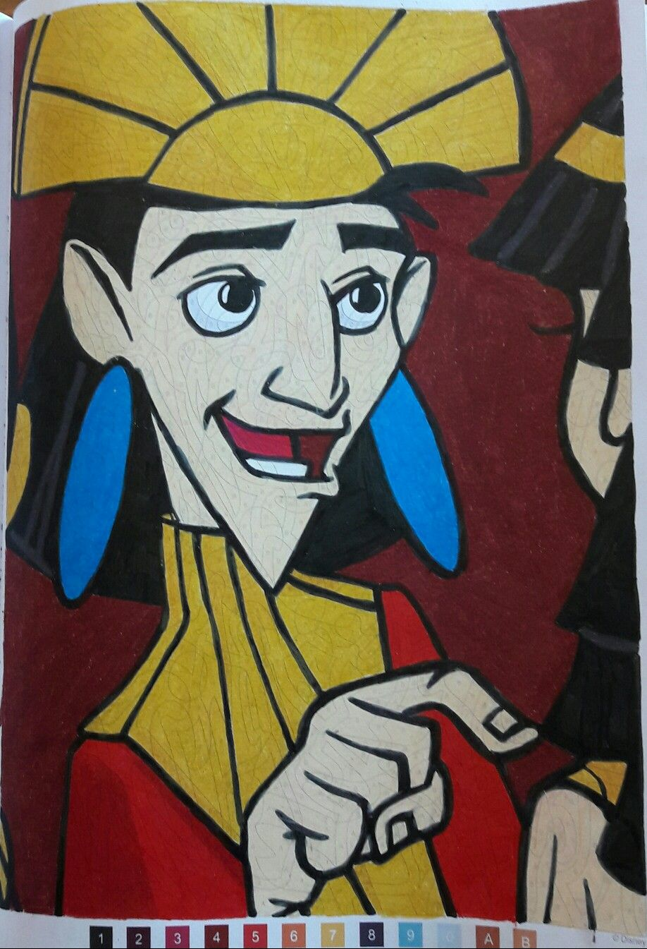 Coloriages Mystères : Les Grands Classiques Disney, tome 28