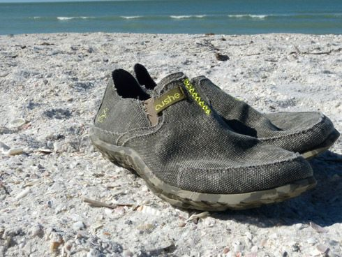 The Cushe Surf Slipper Loafer. My second choice after flip flops. Cheers!   http://bit.ly/IPvG5u