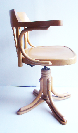 Chaise De Bureau Vintage Chaise Bureau Americain Charles Puces Prives Chair Furniture Decor