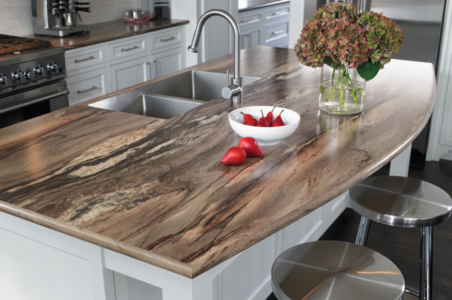 32 Beautiful Epoxy Countertop Kitchen Decoration | Beautiful