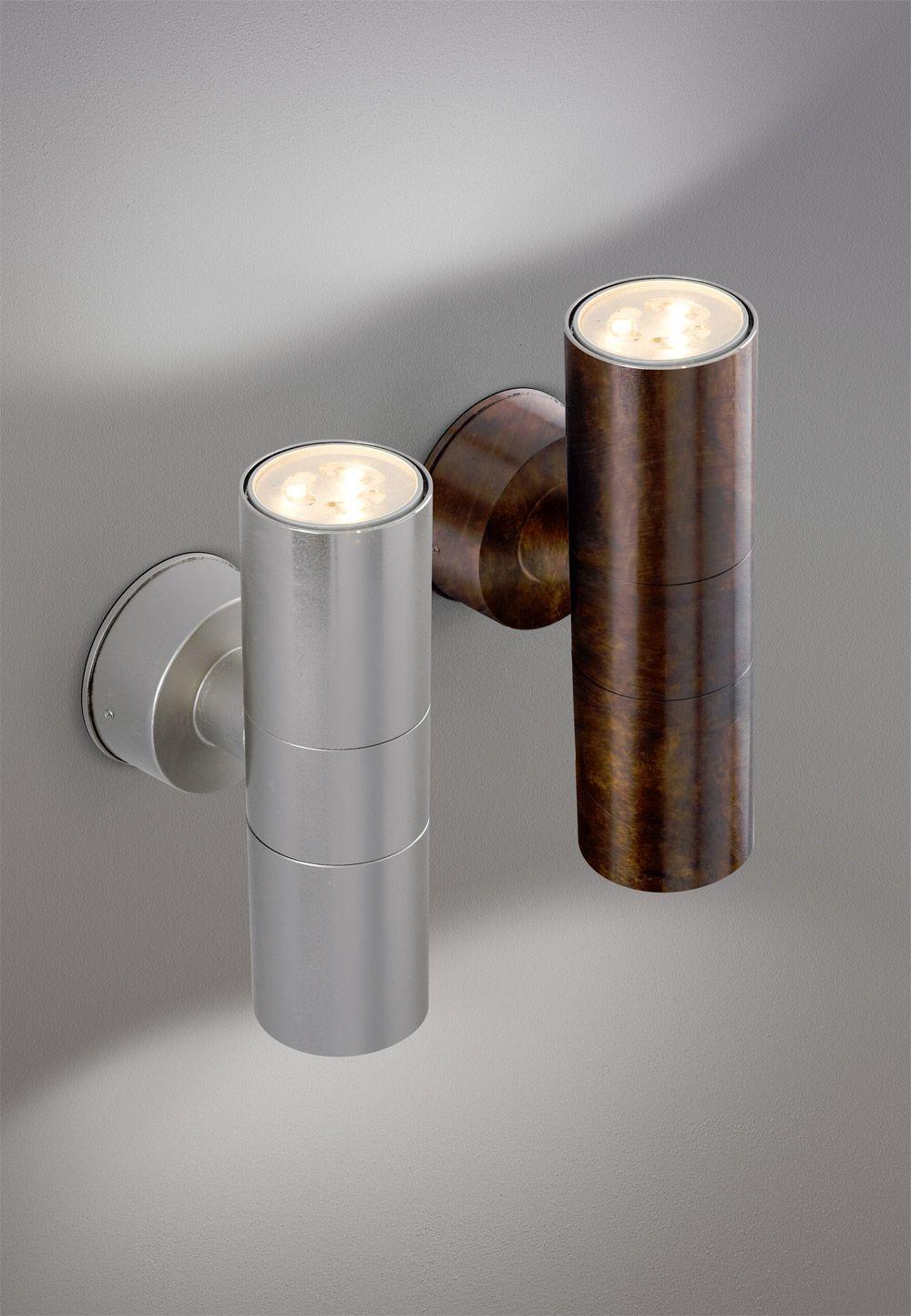 Abarth 204 - lampada da parete in ottone, illuminazione da esterno ...