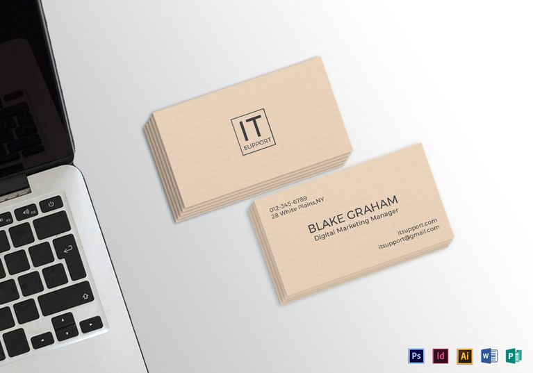 Simple clean business card template formats included illustrator simple clean business card template formats included illustrator indesign ms word photoshop colourmoves