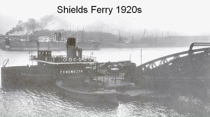 Old shields ferry