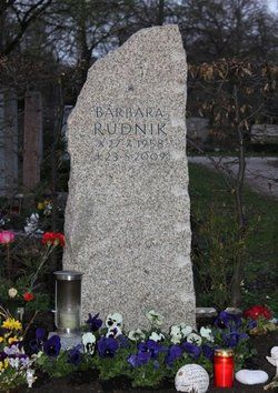 Barbara Rudnik 1958 2009 Find A Grave Memorial Beruhmte Graber Sehnsucht Nach Dir Kino