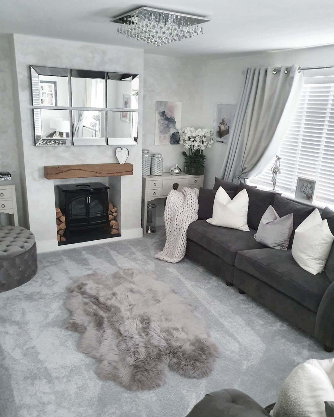 38++ Grey carpet living room ideas information