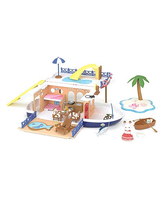 Seaside Cruiser Houseboat Play Set