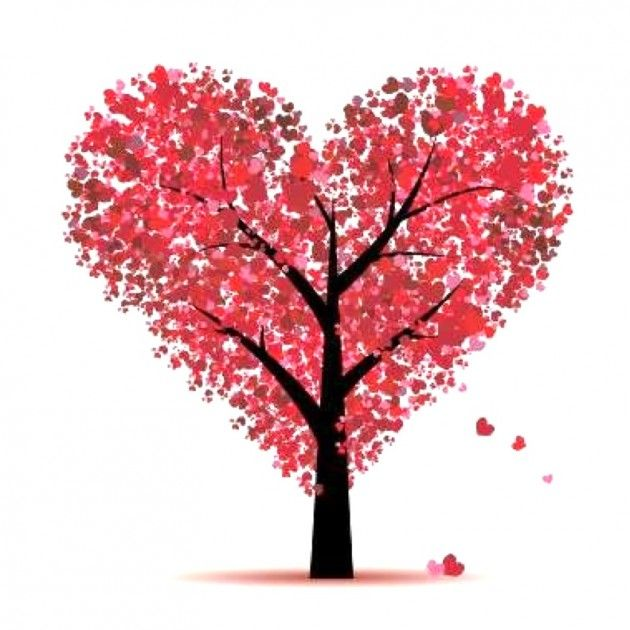 This picture is to remind me to put hearts all over my seasonal tree on my bulletin board.  Can be pulled off easily after Valentine's Day is over.   valentines day decorations | 30 Easy Peasy DIY Valentine's Day Crafts | Daily source for ...